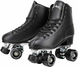 USED Quad Roller Skates with Structured Boot