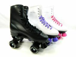 USED Roller Skate Kids Youth Men Women Size Black White Purp