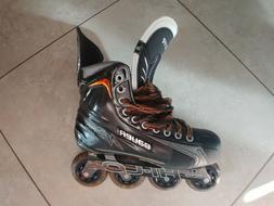 Bauer Vapor apxr roller hockey skates size 8