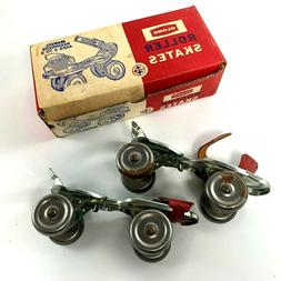 Vintage Metal Roller Skates by Globe 1950's - 1960's New Nee