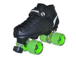 Jackson VIP Derby Quad Roller Speed Skates JR200 w/ Poison W