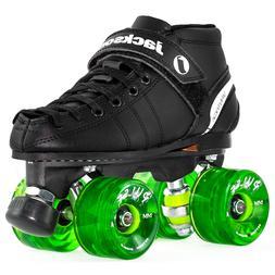 Jackson VIP Outdoor Roller Skates - Atom Pulse Green Wheels