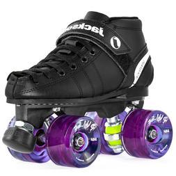 Jackson VIP Outdoor Roller Skates - Atom Pulse Purple Wheels