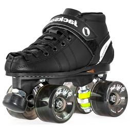 Jackson VIP Outdoor Roller Skates - Atom Pulse Smoke Wheels