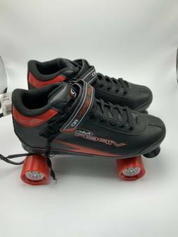 Roller Derby Viper M4 Roller Skates Mens Size 12 Black & Red