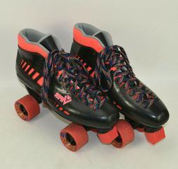 Roller Derby Viper Quad Skates Mens Size 11 M US Black Coral