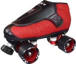 VNLA Junior Code Red Vanilla Jam Roller Skates - Toe Stop or