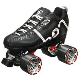 New! Labeda Voodoo U3 Quad Roller Speed Skates Customized Bl