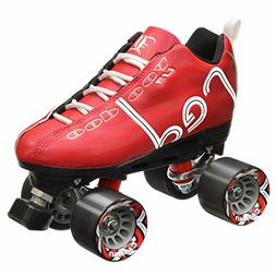 New! Labeda Voodoo U3 Quad Roller Speed Skates Customized Re