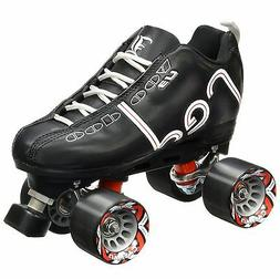 Labeda Voodoo U3 Quad Roller Speed Skate Customized Black w/
