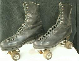 Vtg RIEDELL Red Wing Boots ROLLER SKATES Sure-Grip Olympian