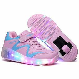 Nsasy Wheel Shoes Roller Shoes Girls Boys Roller Sneakers Ki