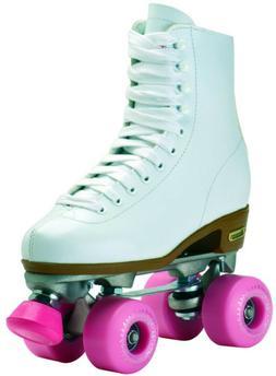 White Chicago Asphalt Junkie Outdoor High Top Roller Skates