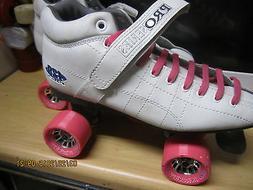 Women  Leather Speed skate sz 11/Men sz 10 Leather  HEEL TO