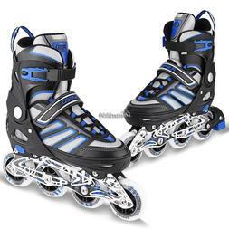 Women Men Inline Skates Roller Blades Adult Size 8-10.5 Adju