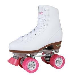 Chicago Women's Classic Roller Skates, White Quad Skates - S