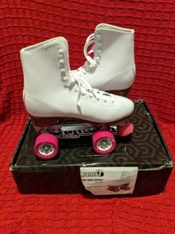 Chicago Women's Classic Roller Skates White Rink Skates CSR4
