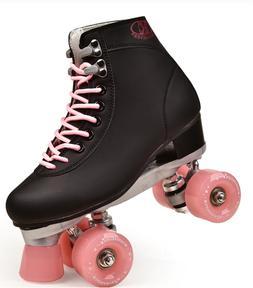 🔥Womens Roller Skates Girls Rink Skate Quad 4 Wheels Skat