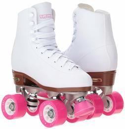 Womens White Classic Rink Roller Skates by CHICAGO Skates