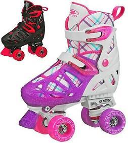 XT 70 Adjustable Childrens Boys and Girls Quad Roller Skates
