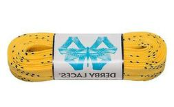 Yellow Derby Laces Waxed Roller Derby Skate Lace in 60, 72,