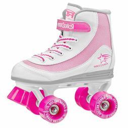 Roller Derby Youth Girls Firestar Roller Skate Size 4, Pink