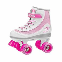Roller Derby Youth Girls Firestar Roller Skate White/Pink 3