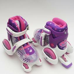 Roller Derby Youth Girls Skates. Roll Adjustable Purple Roll