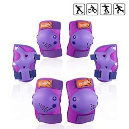 eNilecor Kids/Youth Rollerblade Roller Skates Cycling Knee P