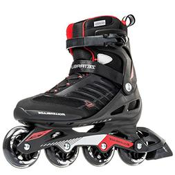 Rollerblade Zetrablade Men's Inline Skates - Black/Red - 7