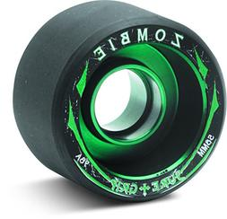 Sure-Grip Zombie Wheels Low 59mm 98a - Green Hub